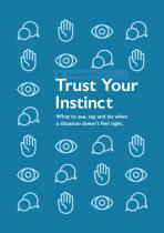 trust your instincts leaflet
